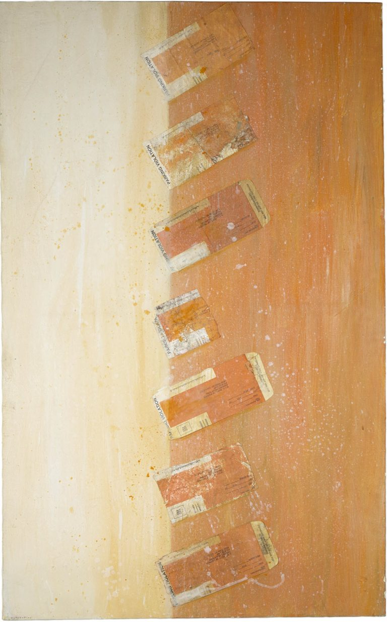Abstract Row, 2006, 48 x 30