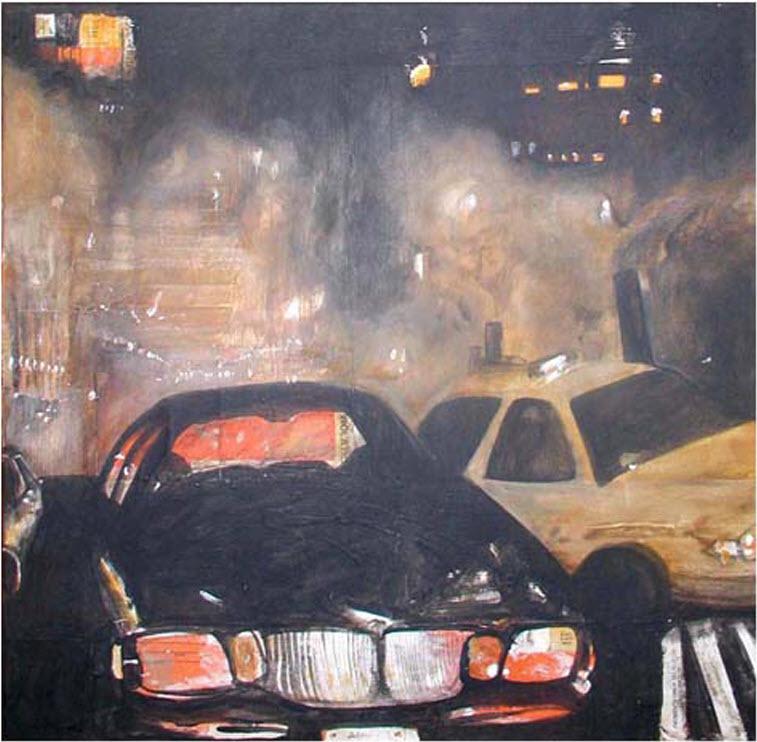 Cars, 2007, 24 x 24