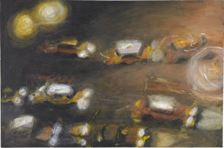 Chelsea Taxis, 2009, 24 x 36