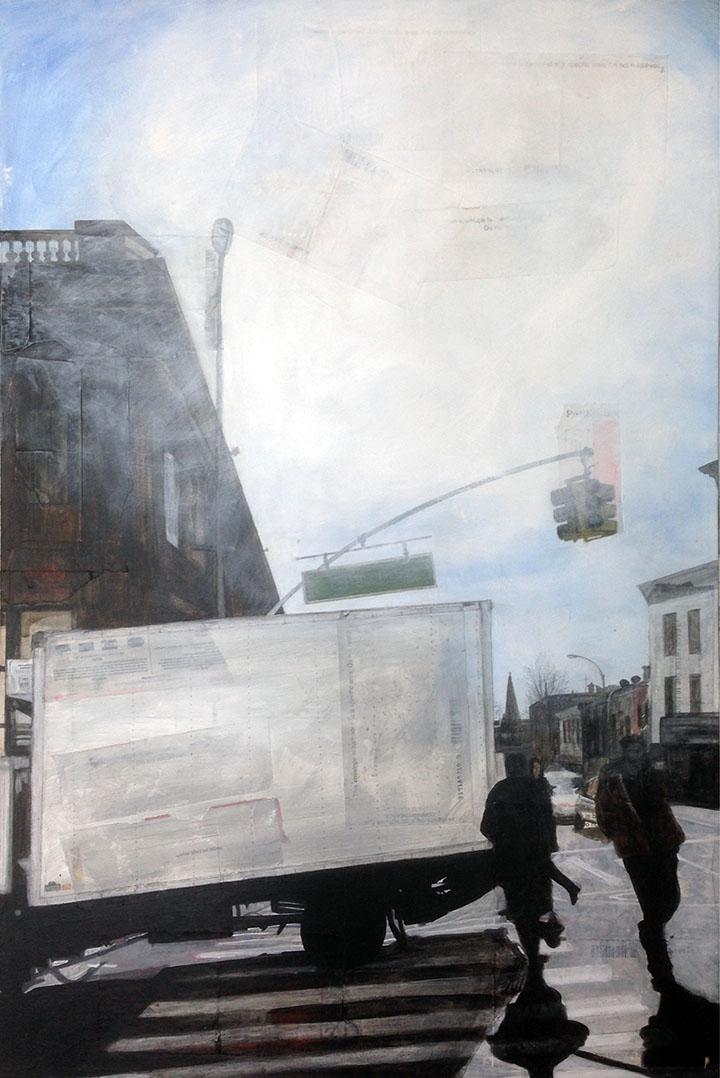 Grand Street, 2016, 36 x 24