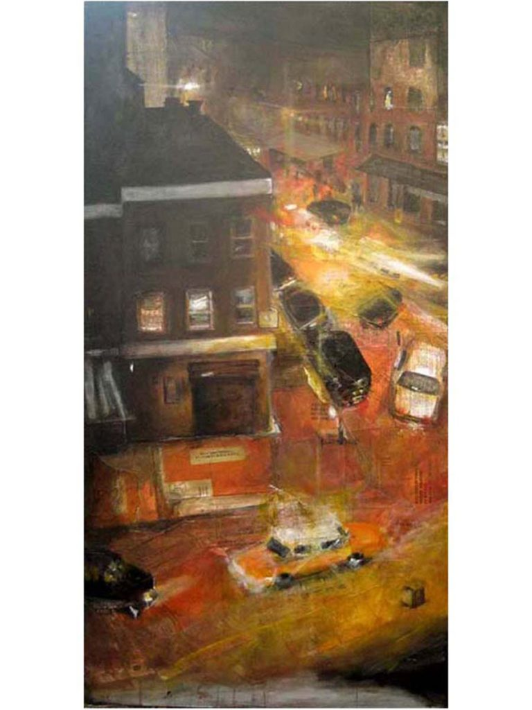 Meatpacking, 2009, 48 x 24