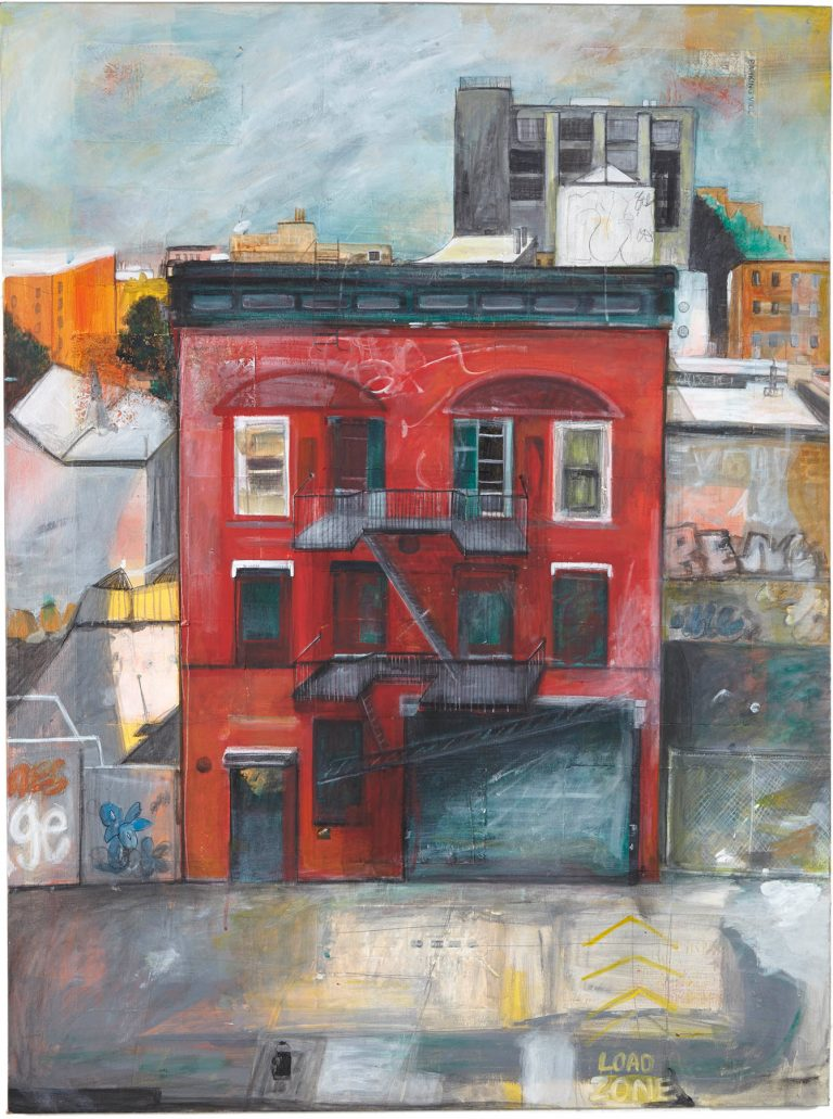 Red House, 2013, 48 x 36
