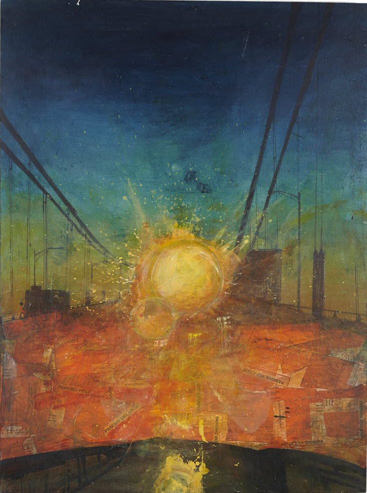 Sunset Bridge, 2014-5, 40 x 30
