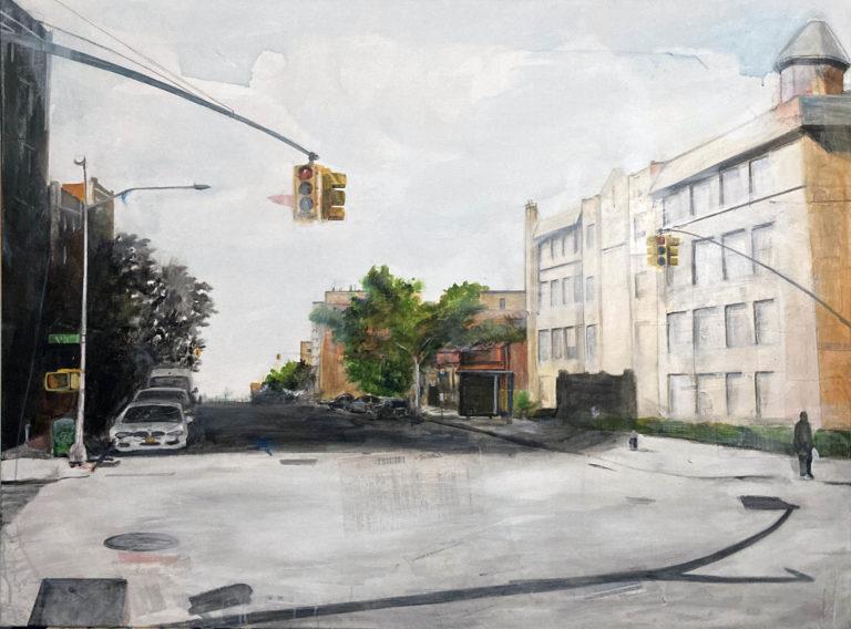 Queens 48, 2020, 36 x 48