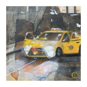 A Cab, 2020, 6 x 6
