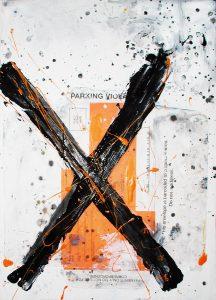 X, 2005, 14 x 10