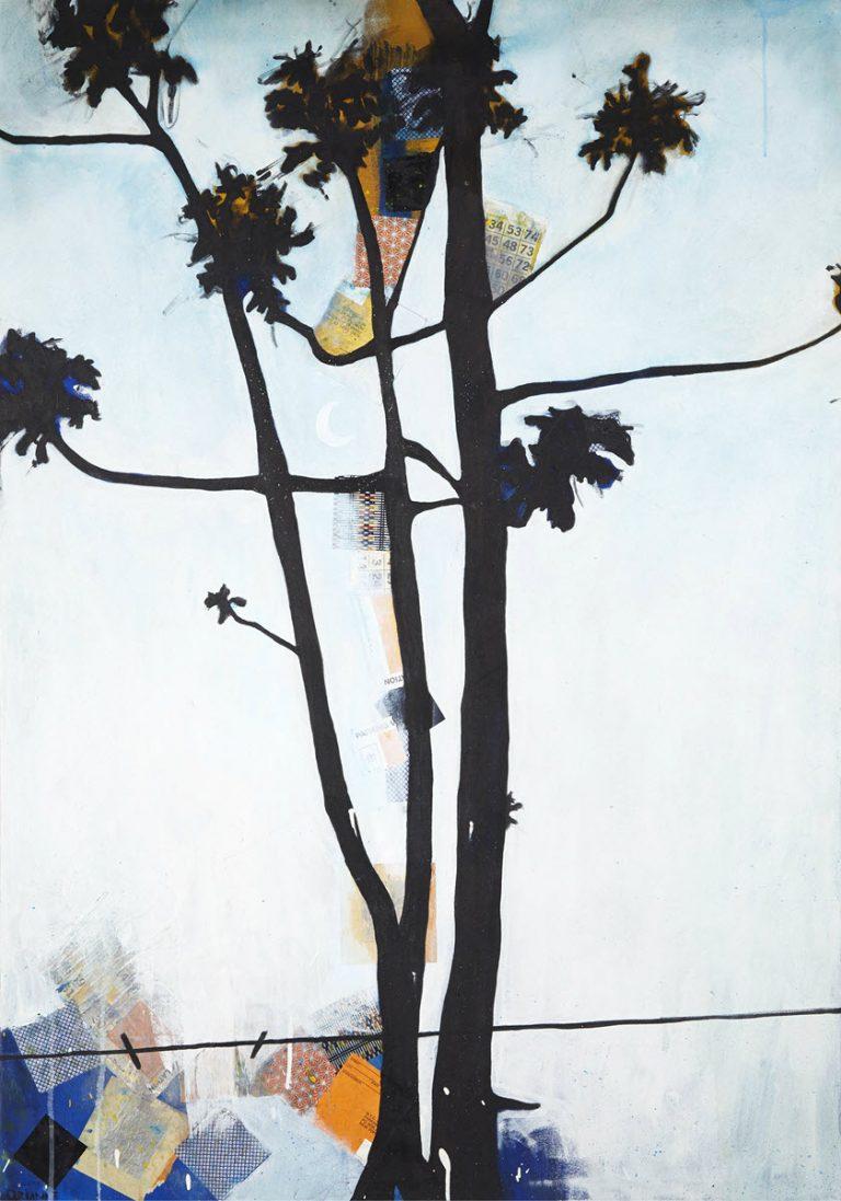 BK Weed 1, 2005, 50 x 36
