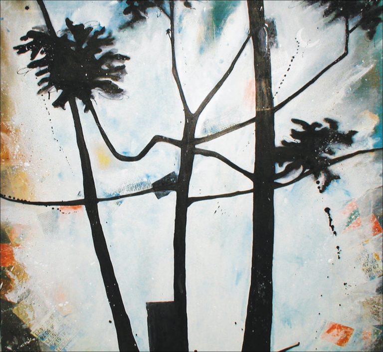 BK Weed 2, 2005, 34 x 34