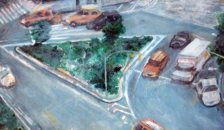 Green Angle, 2009, 24 x 36