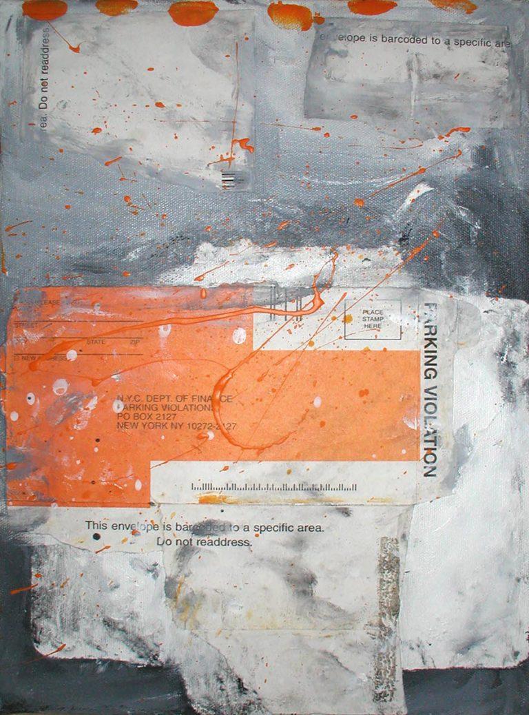 Grey 8, 2006, 14 x 10