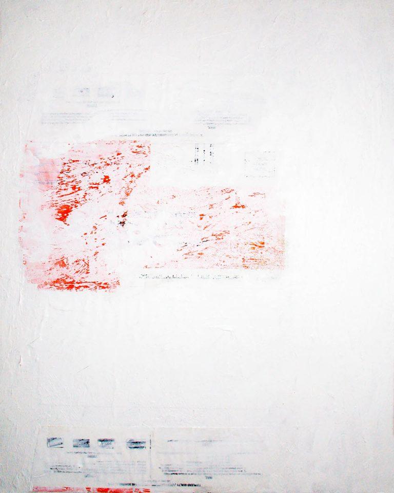 Whiteout, 2006, 14 x 10