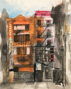 East Village, 2018, 12 x 9